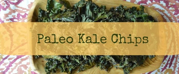 Easy Paleo Kale Chips (Video)