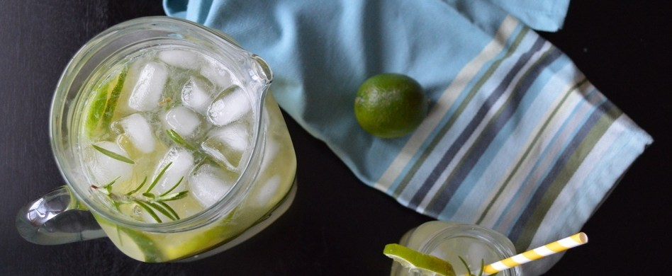 Rosemary Limeade Mocktail