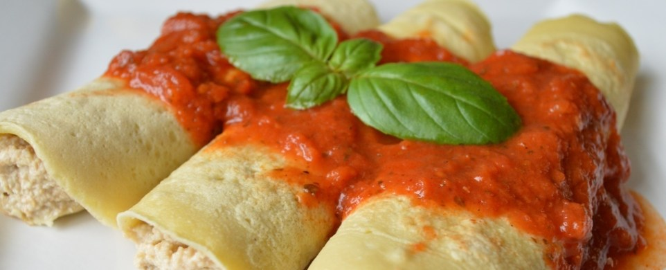 Homemade Paleo Manicotti