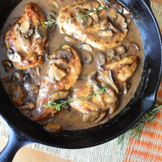 Creamy Mushroom Chicken (Dairy Free)