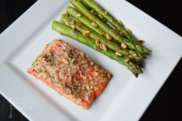 gluten free spring recipes salmon asparagus mangia paleo
