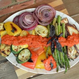 Grilled Italian Veggie Platter