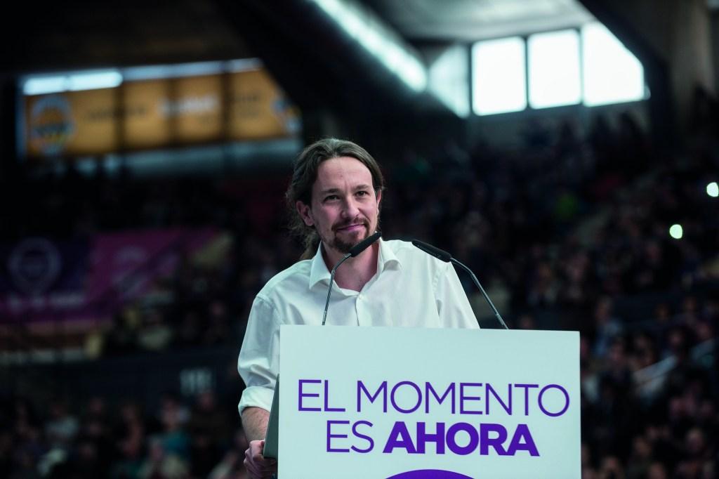 Podemos styrket sin posisjon som høyresidens rival etter lokalvalget. På bildet: Podemos-leder Pablo Iglesias. Foto: Ministerio de Cultura/Flickr