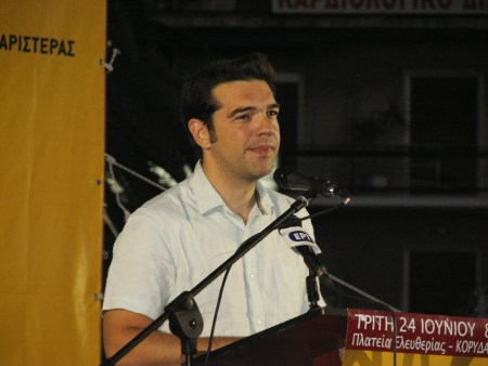 Statsminister Alexis Tsipras. Foto: Andreas Kontokanis/Flickr