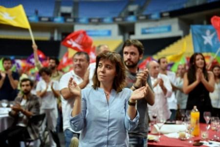 Blocos populære leder Catarina Martins. Foto: Bloco