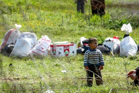En syrisk flyktningegutt i Tyrkia. Foto: Freedom House