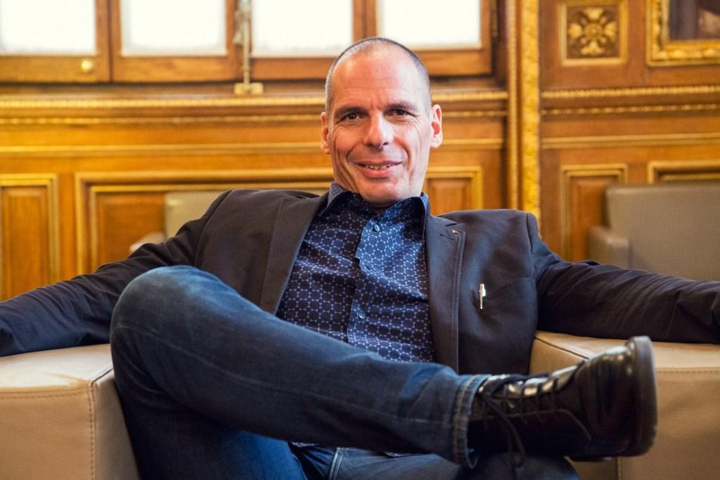 Yanis Varoufakis. Foto: Marc Lozano