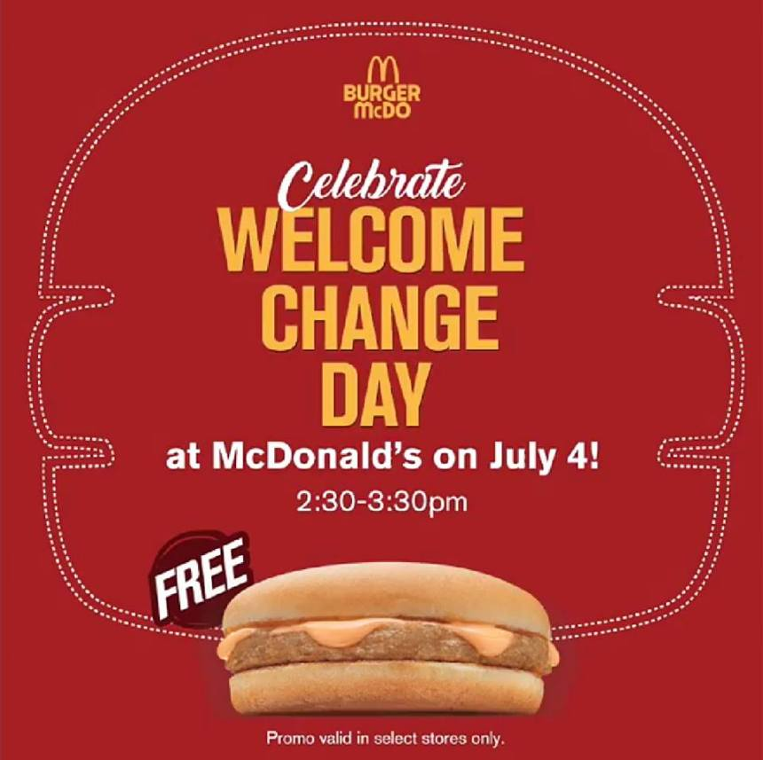 (Photo from McDo PH's Facebook page)