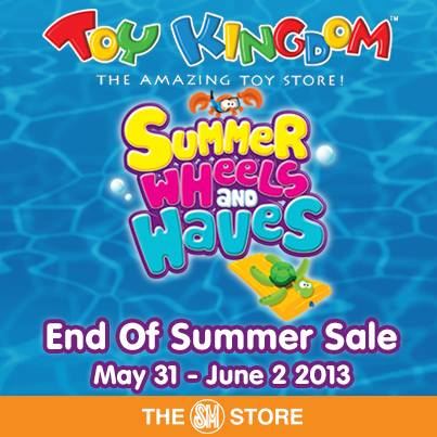 Toy Kingdom End of Summer Sale May - June 2013
