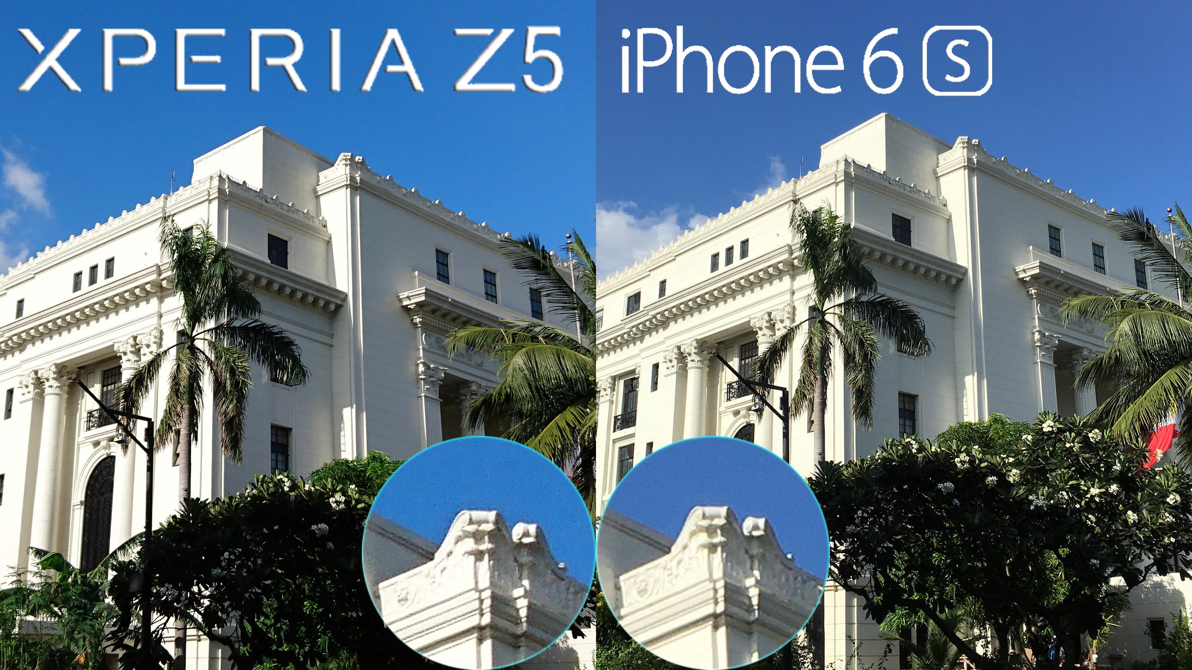 Sony Xperia Z5 vs iPhone 6s Comparison, Camera Review ...