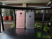 Samsung Galaxy C5 C7 Review vs iPhone 6s Comparison 1