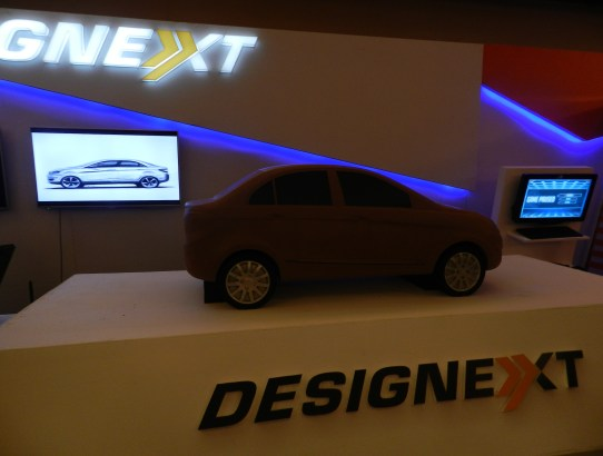 THE MODEL OF TATA ZEST