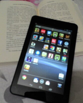 Book, Tablet, Dell, Venue 7
