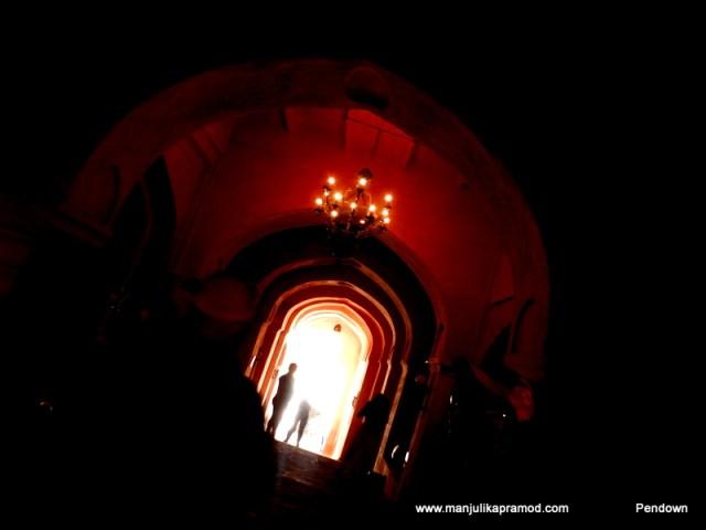 Neemrana fort is beautiful from inside