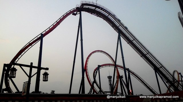 Nitro ride at Adlabs Imagica, Nitro bar at Novotel Imagica