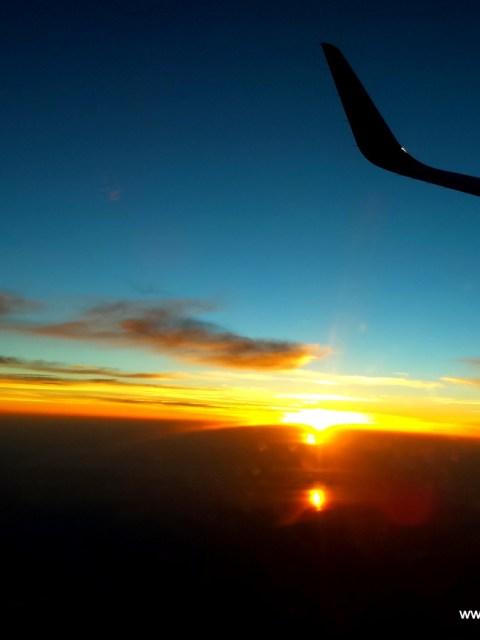 New Delhi to Vizag-Morning flight