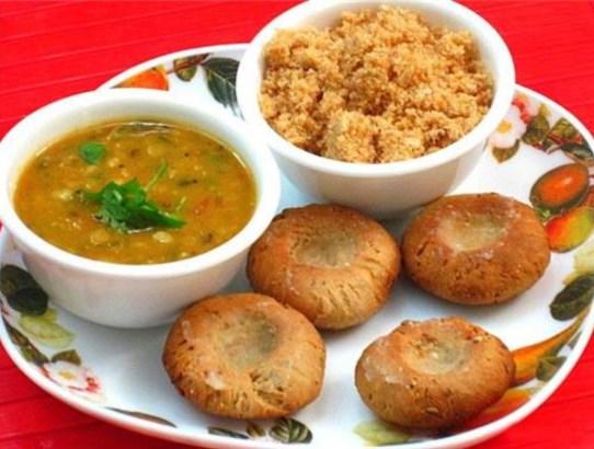 dal-baati-churma-Rajasthani cuisine