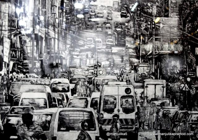The city of Johannesburg, Turbine Art Fair