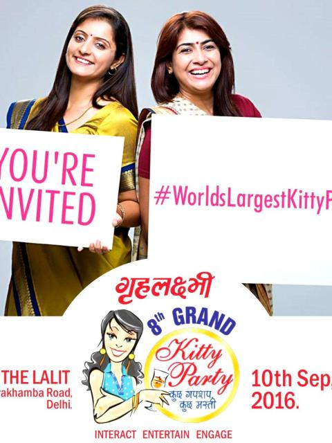 Grehlaxmi Kitty Party, Pendown, Worlds Largest Kitty Party, New Delhi