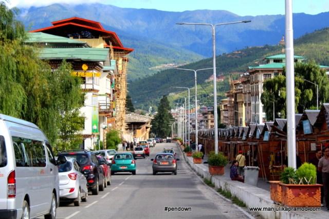 Bhutan, Thimphu, Road trip