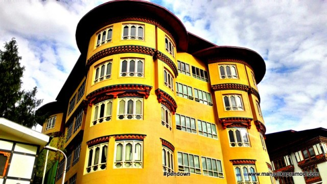 Bhutan and its beautiful architecture