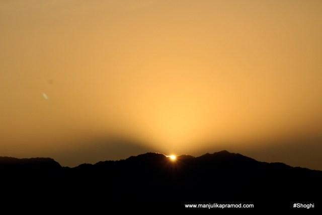 Picture of Sunrise in Shimla