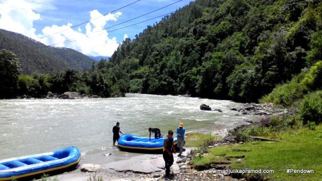Bhutan, River rafting