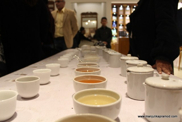 TEA TASTING SESSION