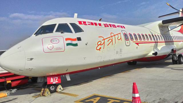 Captain Urmila Yadav Flew this, ATR 72