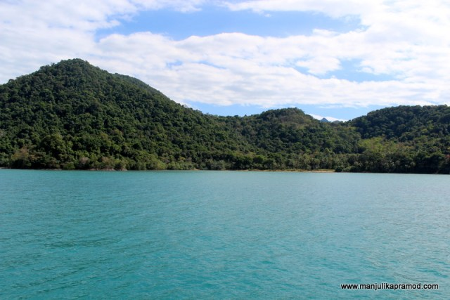 The first view of the KOH CHANG NATIONAL PARK
