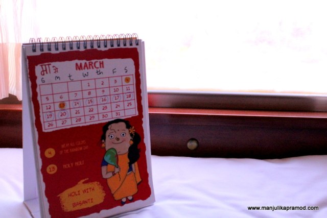 I had a calender given to me by Social Panga and I was marking these days