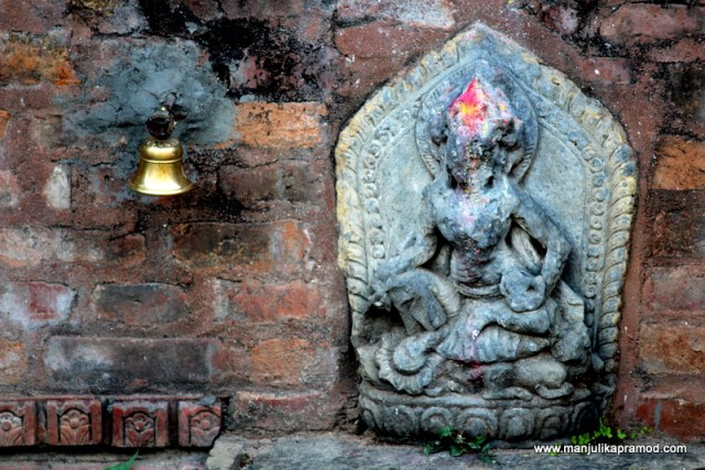 The carvings are very interesting and speak of many stories- Nepal