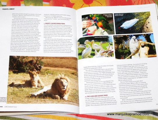 SOUTH AFRICA :  WILDERNESS BECKONS WITH SAEVUS MAGAZINE