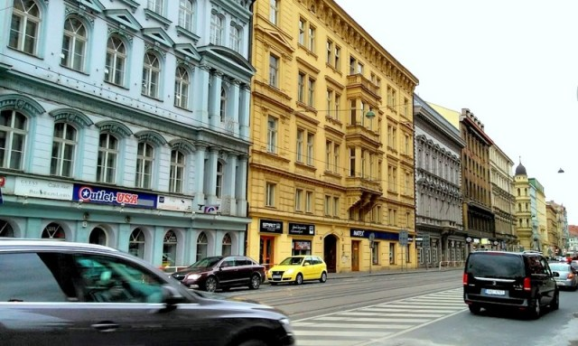 Prague and its streets