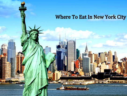5 Eating Places in New York