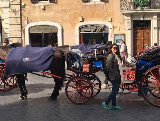 Rome --> Florence --> Venice --> Paris  - 10 Days Itinerary
