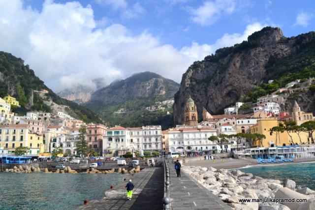 Dream destination, Travel to Amalfi