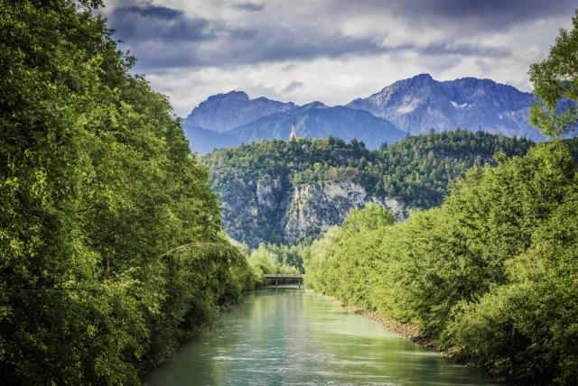 Austria, Innsbruck, Place where Tiger Zinda Hai has been shot