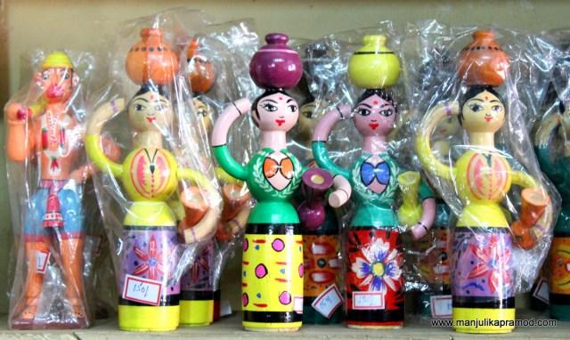 Handmade toys, wooden, Channapatna