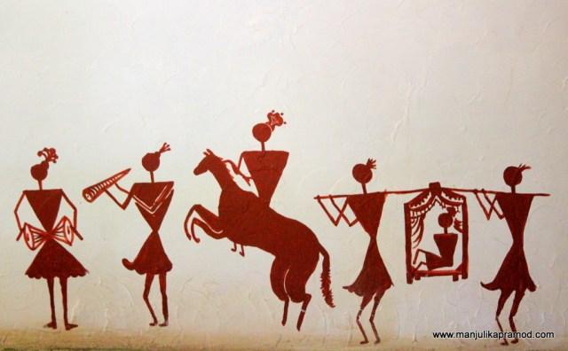 Stick figurines, Tribal Art,