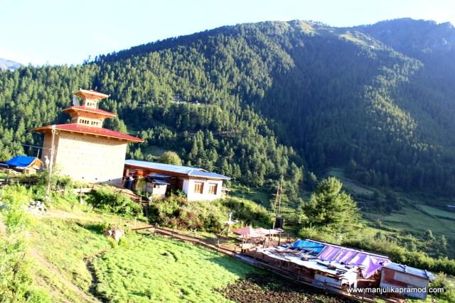 Village walk in Haa Valley