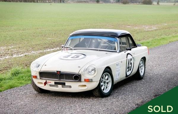 1972 MGB Race Car