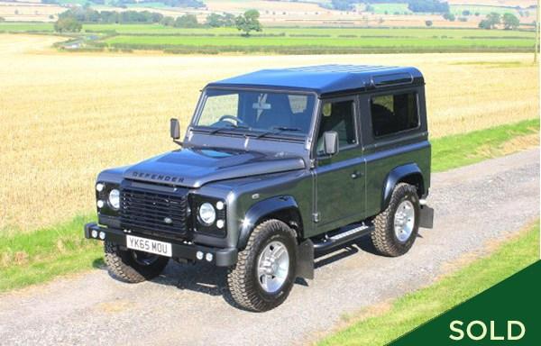 2015/65 Land Rover Defender 90 Landmark Edition