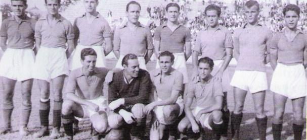 Alineación Betis-Xerez Amistoso 1940