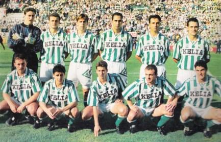 Alineación Betis-Sevilla Liga 1995