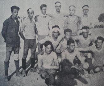 Abdesalam. El primer jugador de color en el Betis. 1930