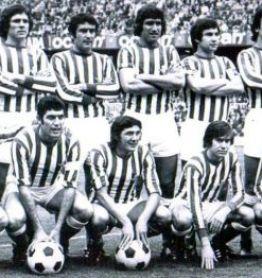 Alineación Barcelona-Betis Liga 1976