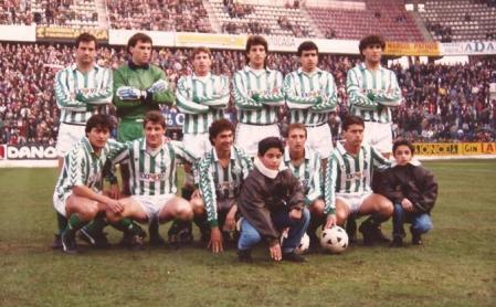 Alineación Sporting de Gijón-Betis Liga 1989
