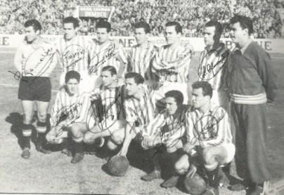 1956-Febrero 05-Heliópolis: Real Betis Balompié-4 Club Deportivo Castellón-2.-59Aniversario.