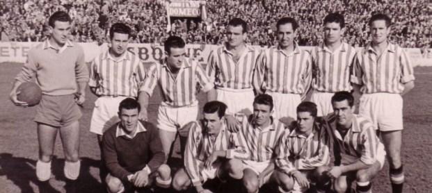 Alineación Betis-Atlético Tetuán Liga 1955
